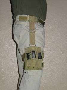 Drop Leg SMG Magazine Pouch, MP5, GSG 5, Black