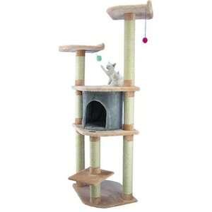 Armarkat Faux Fur Cat Climbing Tower Tree
