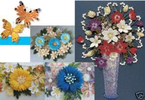 ART OF PAPER QUILLING Quilled/Piecing Craft Idea Book 080665002786