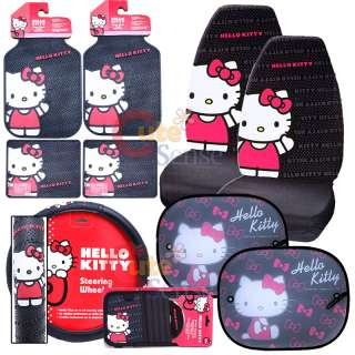 Hello kitty Car Seat Covers Accessories Sun Shade 1