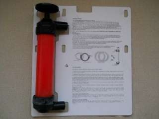 AUTOMOTIVE HAND SIPHON FLUID LIQUID TRANSFER TOOL PUMP