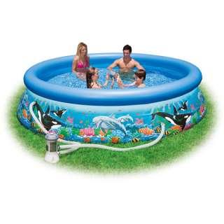 Intex 10 x 30 Ocean Reef Easy Set Swimming Pool
