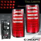 1991 1997 LAND CRUISER FJ82 RED CLEAR TAIL LIGHTS LED SPORT UTILITIES