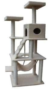 Large 72 Cat Tower Tree w Condo Scratcher Furniture