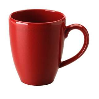 Waechtersbach Effect Glaze Caf Latte Cup in Cherry (Set