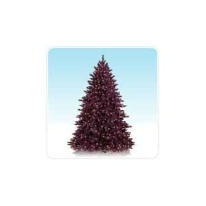 7 Cranberry Crush Colored Artificial Christmas Tree with