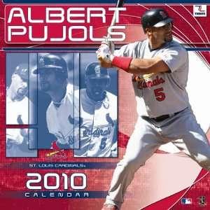 Albert Pujols 2010 St. Louis Cardinals 12x12 Wall Calendar
