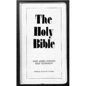 KJV New Testament on 12 Audio Cassettes  Read By Alexander Scourby