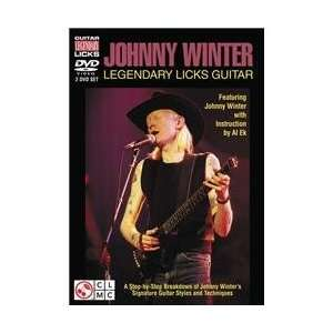 Johnny Winter Legendary Licks Guitar [Dvd] (Featuring Johnny Winter