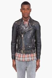 Marc Jacobs Leather Horseskin Jacket for men