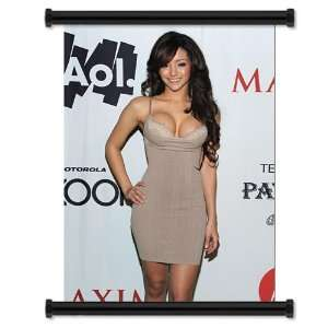 Melanie Iglesias Maxim Model HOT Fabric Wall Scroll Poster