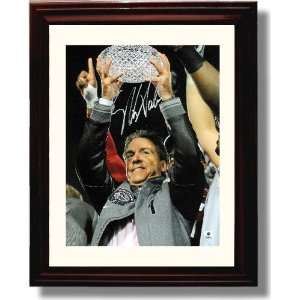 Alabama Crimson Tide Nick Saban Autograph Print
