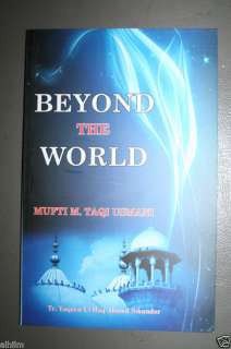Beyond The World Mufti Taqi Usmani English Book Islamic