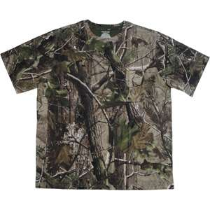 Realtree APG Short Sleeved Camo Tee Hunting