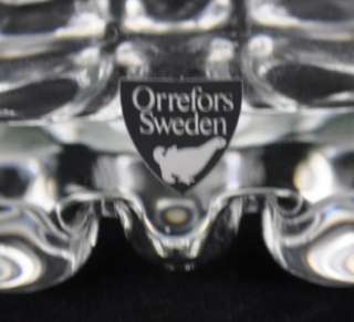 VTG Orrefors Sweden Erik Glass Martini Shaker Pitcher Decanter Art
