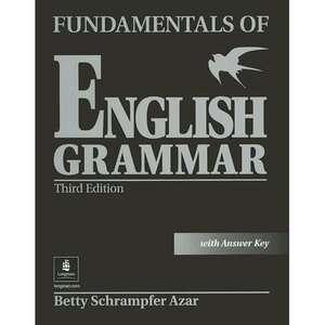 of English Grammar with Answer Key, Azar, Betty Schrampfer Textbooks