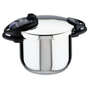 Magefesa Ideal Stainless Steel 8 qt. Pressure Cooker