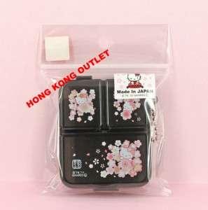 Hello Kitty Pill Case Box Storage Case Floral G28c