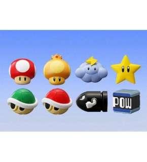 Super Mario Bros Mario Kart Mini Figure Set Of 8 *New*