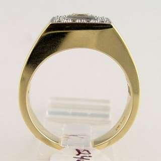 75 CT Diamond Mens Ring Set in 14k Gold