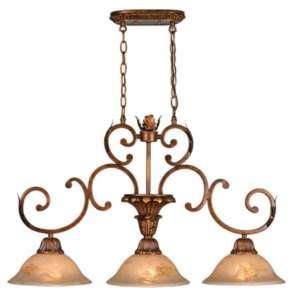 Golden Lighting Triple Hanging Pendant Kitchen Light