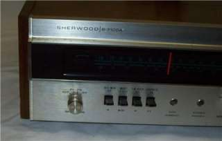 VINTAGE SHERWOOD S 7100A STEREO RECEIVER ,,WORKS GREAT