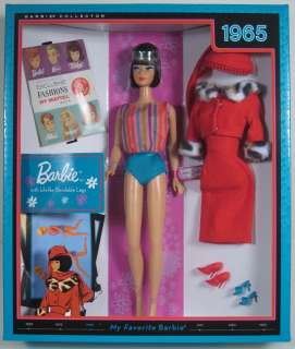 2010 MY FAVORITE BARBIE w LIFELIKE BENDABLE LEGS (1965)