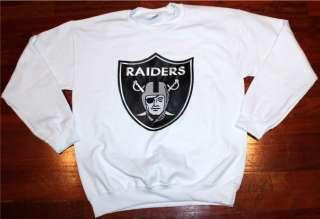 Los Angeles Raiders Crewneck Sweater Sweat SHirt Bo Jackson OG