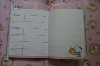 2012 Sanrio Hello Kitty Japan Datebook Diary Book Schedule Planner L