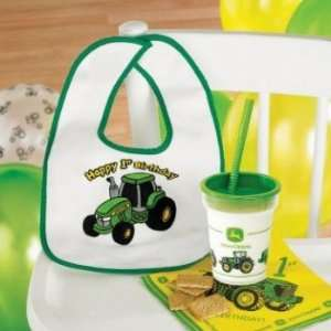 John Deere 1st Birthday Bib Party Supplies: Toys & Games