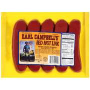 Earl Campbell Red Hot Ink Sausage, 14 Oz Earl Campbell Red Hot Ink