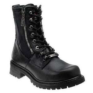 Motorcycle Clothing Company Trooper Leather Mens Motorcycle Boots