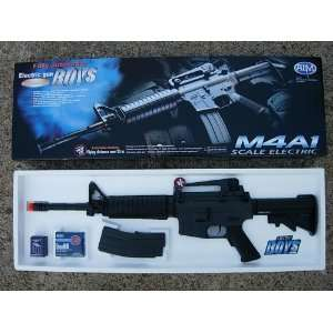 Boys M4A1 Full/Semi Auto Airsoft Gun Sports & Outdoors
