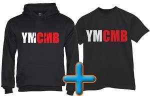 Shirt + Hoodie Money Wayne young weezy lil rap cd hip hop tee cash lot