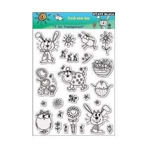 New   Penny Black Clear Stamps 5X7.5 Sheet by Penny Black