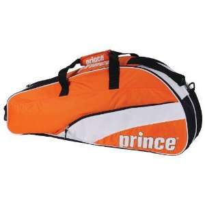 Prince 11 T22 Team 6 Pack Tennis Bag (Orange/White