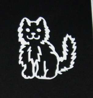 Cat pet Stick Family People Car Window Vinyl Decal Sticker Persian