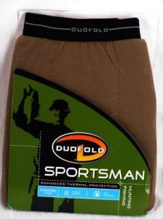 Duofold SPORTSMAN Hunt 3XL 4XL Warm Underwear Long John PANTS Base