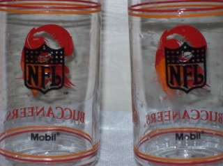 LOT 2 Tampa Bay Buccaneers NFL Retro Logo Mobil Glasses
