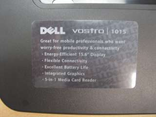 DELL Vostro 1015 front bezel cover touchpad