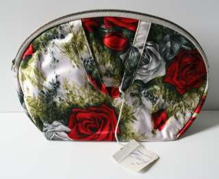 Vintage Make Up Cosmetic Bag Travel Case Accessories