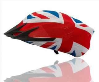 Tortugaz Bicycle Bike Helmet Cover British Style