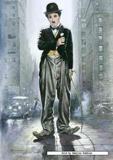 puzzle 1000 pcs Renato Casaro   City lights   Charlie Chaplin