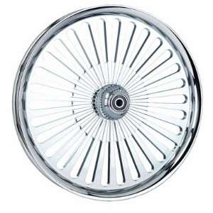 18 x 3.5 FLH DD Super Spoke Chrome Billet Wheel   Frontiercycle (Free