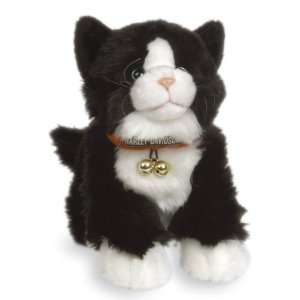 12 Harley Davidson Biker Club Black Kit Plush Cat
