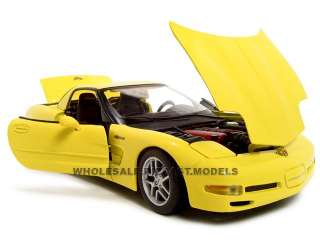 diecast model of Chevrolet Corvette C5 Z06 die cast car by Maisto