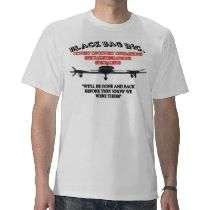 Black Bag Inc. Tee Shirt by Night_Wolf