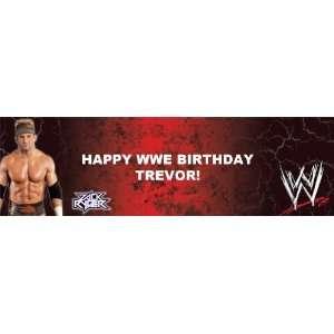WWE   Zack Ryder Personalized Banner Medium 24 x 80